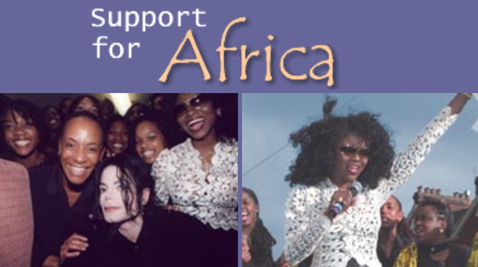 Support for Africa with MJ